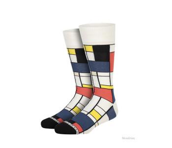 Mondriaan sokken van Heroes on Socks - maat 41-46 bij shop.holland.com