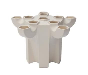 Tulpenvaas JvdV P1 in wit koop je bij Holland Design & Gifts