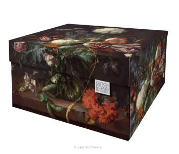 Dutch design opbergbox bloemen 40x31x21cm bij shop.holland.com