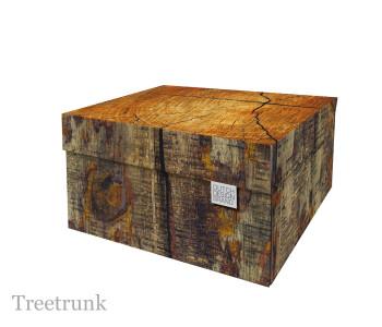 Opbergbox boomstam print van Dutch Design brand bij shop.holland.com