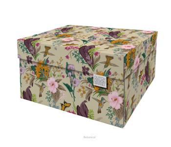 Dutch Design Opbergbox Botanical 40 x 31 x 21 cm