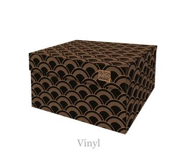 Opbergbox Vinyl helpt je jouw administratie keurig op te bergen - leuk cadeau voor haar en hem
