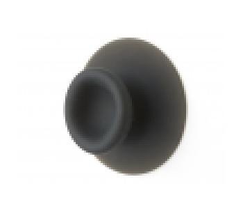 Sucker zuignap haakje van Droog Design in antraciet grijs