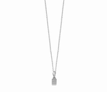 De Jordaan ketting in zilver met fijn grachtenpandje als bedel van het merk Riverstones koop je bij shop.holland.com