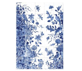Rijksmuseum theedoek Delfts blauw tegeltjes koop je bij Holland Design & Gifts