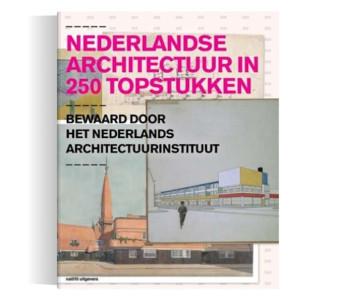 Boek Nederlandse architectuur in 250 kopstukken - bijzonder cadeau