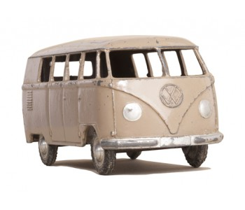 Muursticker Wanted Wheels Volkswagen busje