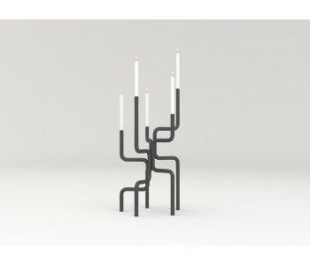 Design Kandelaar van Nederlands ontwerper Frederik Roijé: een mooi huwelijkscadeau