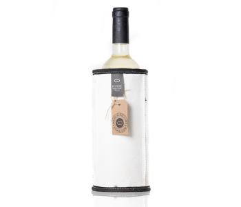 Kywie Wooler wit is een wijn koeler van schapenvacht