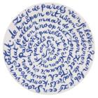 Diskus bord Geluk - Delfts Blauw van Royal Delft