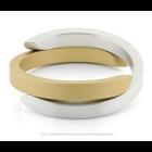 Clic Armband A1G mat zilver en goud