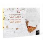 Kleurboek Kleur je eigen Van Gogh
