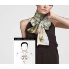 Sjaalring zilver- of goudkleur