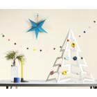 PaperTree Kerstboom van wit of zwart karton 75 cm hoog