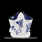 Hendrik' Vouwvaas met strik Delfts blauw