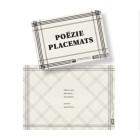 Poëzie Placemats van Plint