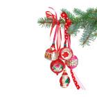 Kerst Raamsticker Rood van Flat Flowers