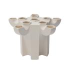 JVDV-P1 Tulpenvaas wit door Bas van Beek