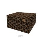 Dutch Design Opbergbox Vinyl 40 x 31 x 21 cm