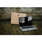 MacBook Pro Laptoptas 'Woodcase' in Eiken of Notenhout