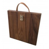 iPad hoes 'Woodcase' in Eiken of Notenhout