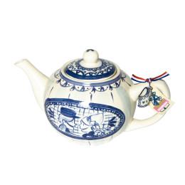 Theepot Delfts Blond in blauw wit van Blond Amsterdam voor een heerlijke kop thee