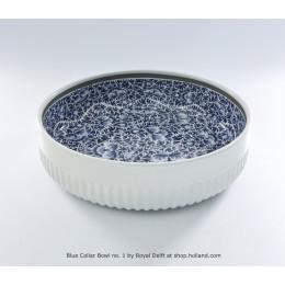 Schaal Blue Collar no 1 van Royal Delft