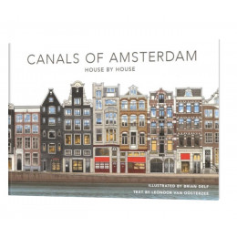 Boek Canals of Amsterdam - House by House
