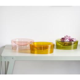 Functionals Bowl schaal - bruin, groen of roze