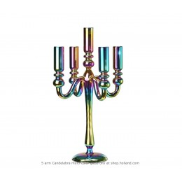 Pols Potten vase Graphic Luster 40,5 cm multicolored glass