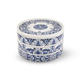 Royal Delft Collectabowls - Delfts Blauw schalen met deksel