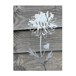 Bloemen van Cortenstaal van Studio Divers – Dahlia 70 cm koop je bij shop.holland.com