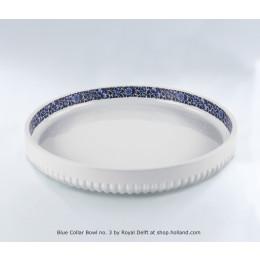 Grote platte schaal Blue Collar nr.3