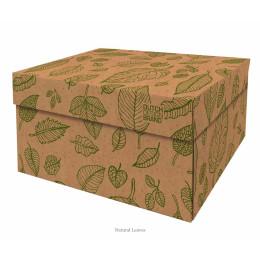 Dutch design opbergbox Natural Leaves 40x31x21cm koop je bij shop.holland.com