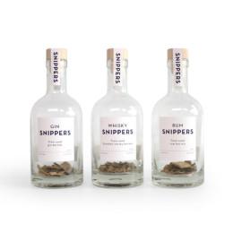 Snippers is een origineel cadeau voor whisky-, rum- en ginliefhebbers