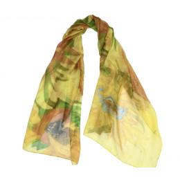 Perfect relatiegeschenk - sjaal zonnebloemen Van Gogh
