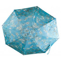 Opvouwbare paraplu met print van schilderij Amandelbloesem van Vincent Van Gogh