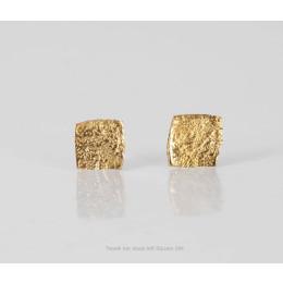 Tweek oorbellen Left Square 24k verguld koop je bij shop.holland.com
