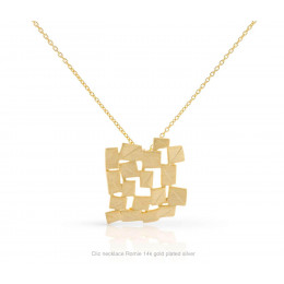 Clic ketting Romie 14k verguld zilver - een mooi cadeau voor een vriendin