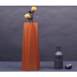 Bijzonder cadeau: wenskaart gevouwen tot een vaas
