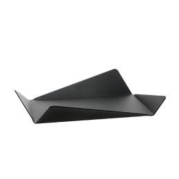 Gispen Contour tafel schaal  van zwart staal door Robert Bronwasser