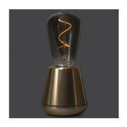 Humble One draadloze tafellamp in goud