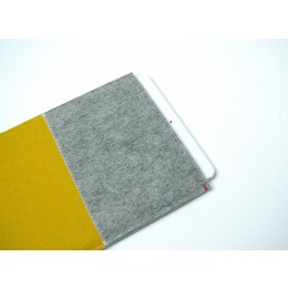 Westerman Bags iPad Air hoes geel vilt