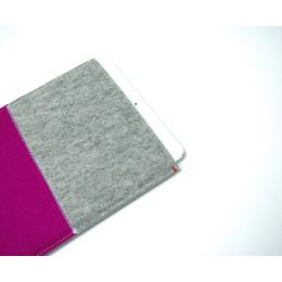 Westerman Bags roze iPad Air hoes van sterk en zacht vilt