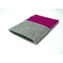 Westerman Bags roze kindle hoesje, zacht vilten sleeve
