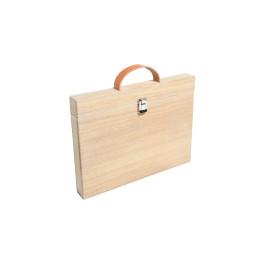 Macbook Pro 13 inch case van eikenhout door Studio Jasper