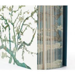 Luxe A5 notitieboek Amandelbloesem wit van Van Gogh