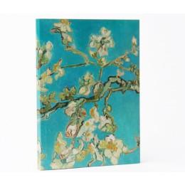 Dutch Design van Vincent Van Gogh op een notitieboekje: handig cadeautje voor in je tas