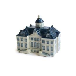 Paleis van Huis ten Bosch delfts blauw miniatuur van Royal Goedewaagen