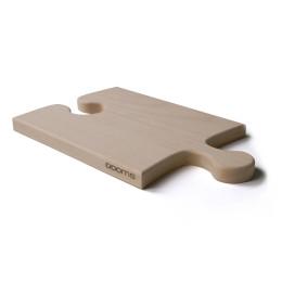 Puzzleboard OOOMS houten puzzel stuk als snijplank of kaasplank
